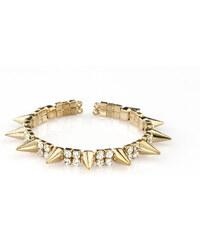 Náramek s hroty zlatý NM0075-0314