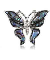 Brož motýlek s Paua perletí BR0023-0410