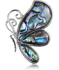 Brož motýl s Paua perletí BR0106-0410