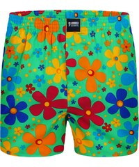 Happy Shorts Boxershorts 'Blumen', grün