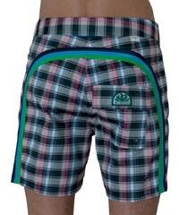Sundek Boardshorts 'Memory Plaid', green