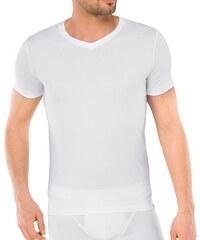 Schiesser Kurzarm Shirt 'Long Life Cotton' Weiß