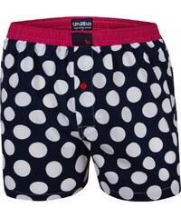 Unabux Boxershorts 'THE DOT', navy