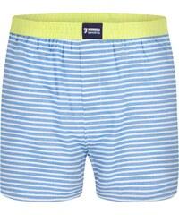 Happy Shorts Boxershorts 'Streifen', blau/weiß