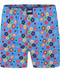 Happy Shorts Boxershorts 'Blumen', hellblau