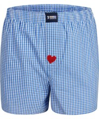 Happy Shorts Boxershorts 'Check with Heart'