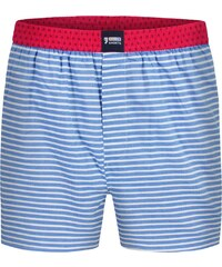 Happy Shorts Boxershorts 'Streifen', blau