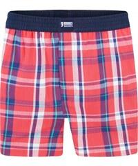 Happy Shorts Boxershorts 'Karos', rot/blau
