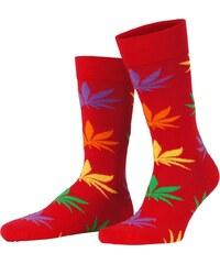 Hot Soccs Socke 'Cannabis', rot