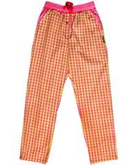 Unabux Pyjamahose 'JANIS', pink/grün