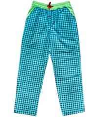 Unabux Pyjamahose 'BOWIE', blau/grün
