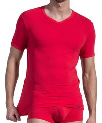 Olaf Benz V-Neck Shirt, rot