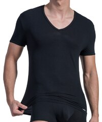 Olaf Benz V-Neck low Shirt, schwarz