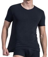 Olaf Benz V-Neck Shirt, schwarz