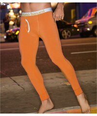 Bruno Banani Lange Unterhose 'Long John', orange