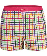 Color Code Boxershorts 'Chequered Colors', mehrfarbig
