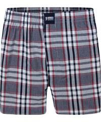 Happy Shorts Boxershorts 'Karos' schwarz/rot