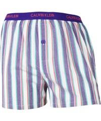 Calvin Klein Boxershorts 'Streifen', blau/grün/weiß