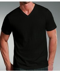 Jockey T-Shirt 'V-Hals', schwarz