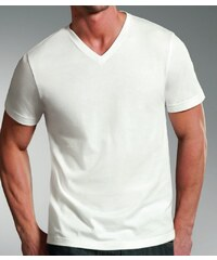 Jockey T-Shirt 'V-Hals', weiß