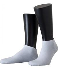 Löw Socks 2-Pack Sneakersocke 'Florenz', weiß