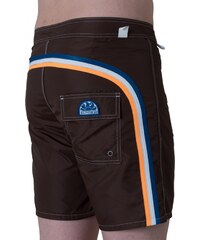Sundek Boardshorts 'Taffeta Solid', dark brown