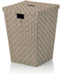Prádelní koš Alvaro tm.šedý, 40x40x52cm KELA KL-23073