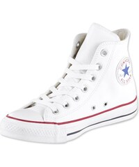 Converse All Star Hi Leather chaussures white