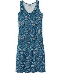 bpc selection Chemise de nuit bleu sans manches lingerie - bonprix