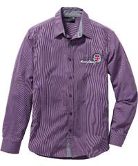 bpc selection Chemise manches longues Regular Fit violet homme - bonprix