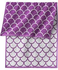 bpc living Serviette de toilette Frida violet maison - bonprix