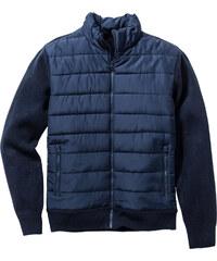 bpc selection Blouson outdoor en maille Regular Fit bleu manches longues homme - bonprix