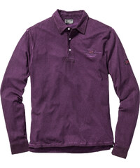 bpc selection Polo manches longues Regular Fit violet homme - bonprix