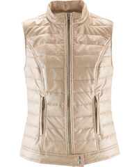 bpc selection Gilet en simili brillant or sans manches femme - bonprix