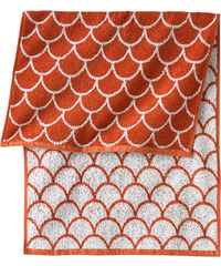 bpc living Handtuch Frida in orange von bonprix