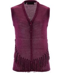bpc selection Strickweste in lila für Damen von bonprix