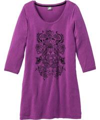 bpc selection Longshirt 3/4 Arm in schwarz für Damen von bonprix