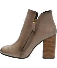 Helia High Heel Stiefelette taupe