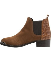 Franco Russo Napoli Ankle Boot tabacco/argento