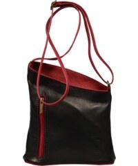 Malá černá kabelka Angola Nera Rossa