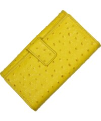 žlutá peněženka 7046 Giallo Struzzo