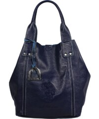 kožená kabelka U.S. Polo Assn Blue US15S17-01BL