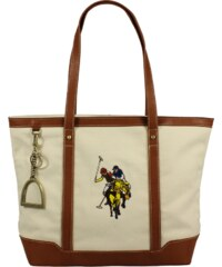 Plážové tašky U.S. Polo Assn BAG081-S6/01 Beige