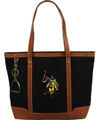 Plážové kabelky U.S. Polo Assn BAG081-S6/01 Black