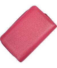 Kožená peněženka WB009 Fuxia