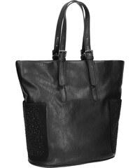 Baťa Dámská černá kabelka s kamínky