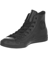 Converse All Star Leather chaussures black monochrome