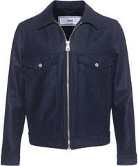 AMI PARIS Zipped Jacket Indigo