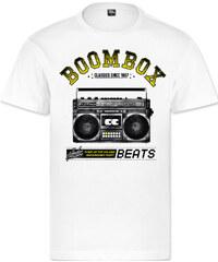 Underpressure Boombox T-Shirt white