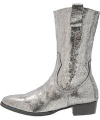 Helia Cowboy/ Bikerboot grassy silver